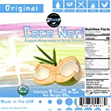Organic Coconut Wraps, Coco Nori Original (Raw, Vegan, Paleo, Gluten Free wraps) Made from young Thai Coconuts (5 Count)