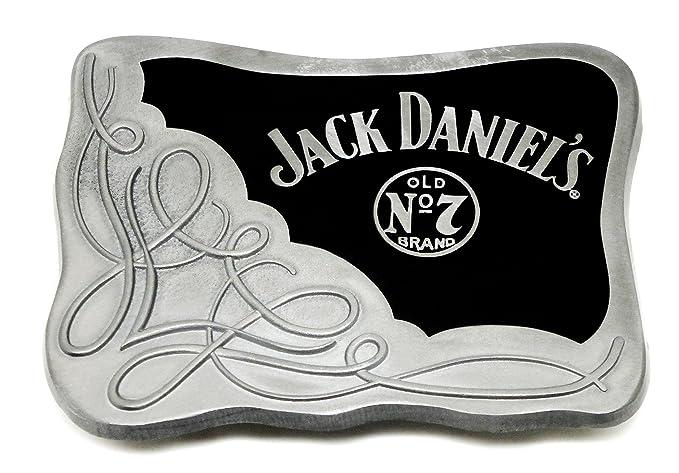 210a23855 Jack Daniel`s - Hebilla de cinturón - para hombre negro negro Talla única