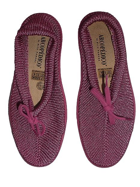 Arcopedico - Mocasines para mujer rosa rosa 38.5 (6 UK)