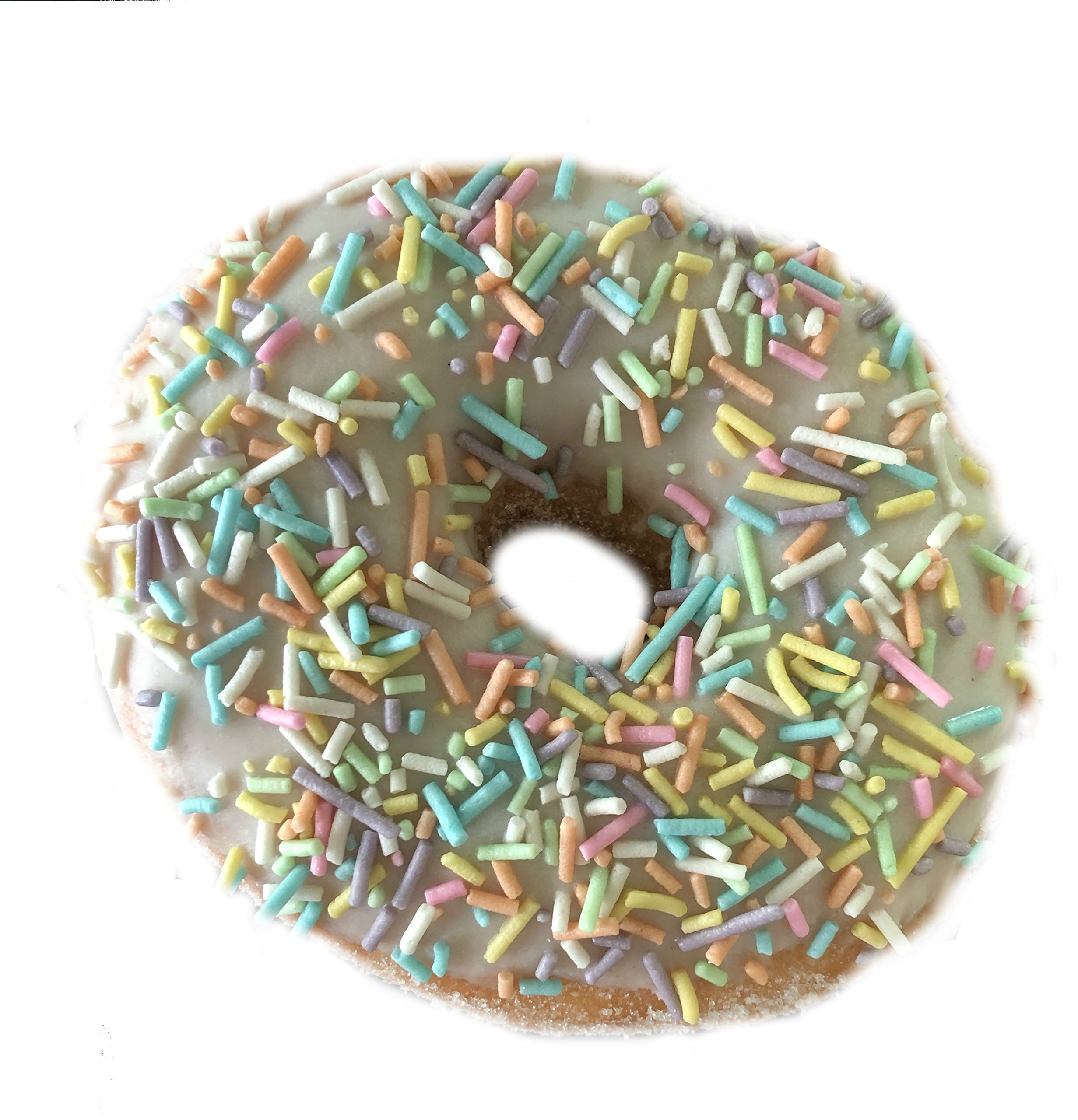Sprinkles Jimmies Rainbow and Pastel Collection 100% sugar, gluten free 10.58 Oz.