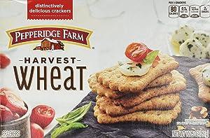 Pepperidge Farm Harvest Wheat Distinctive Crackers 10.25 oz (Pack of 2)