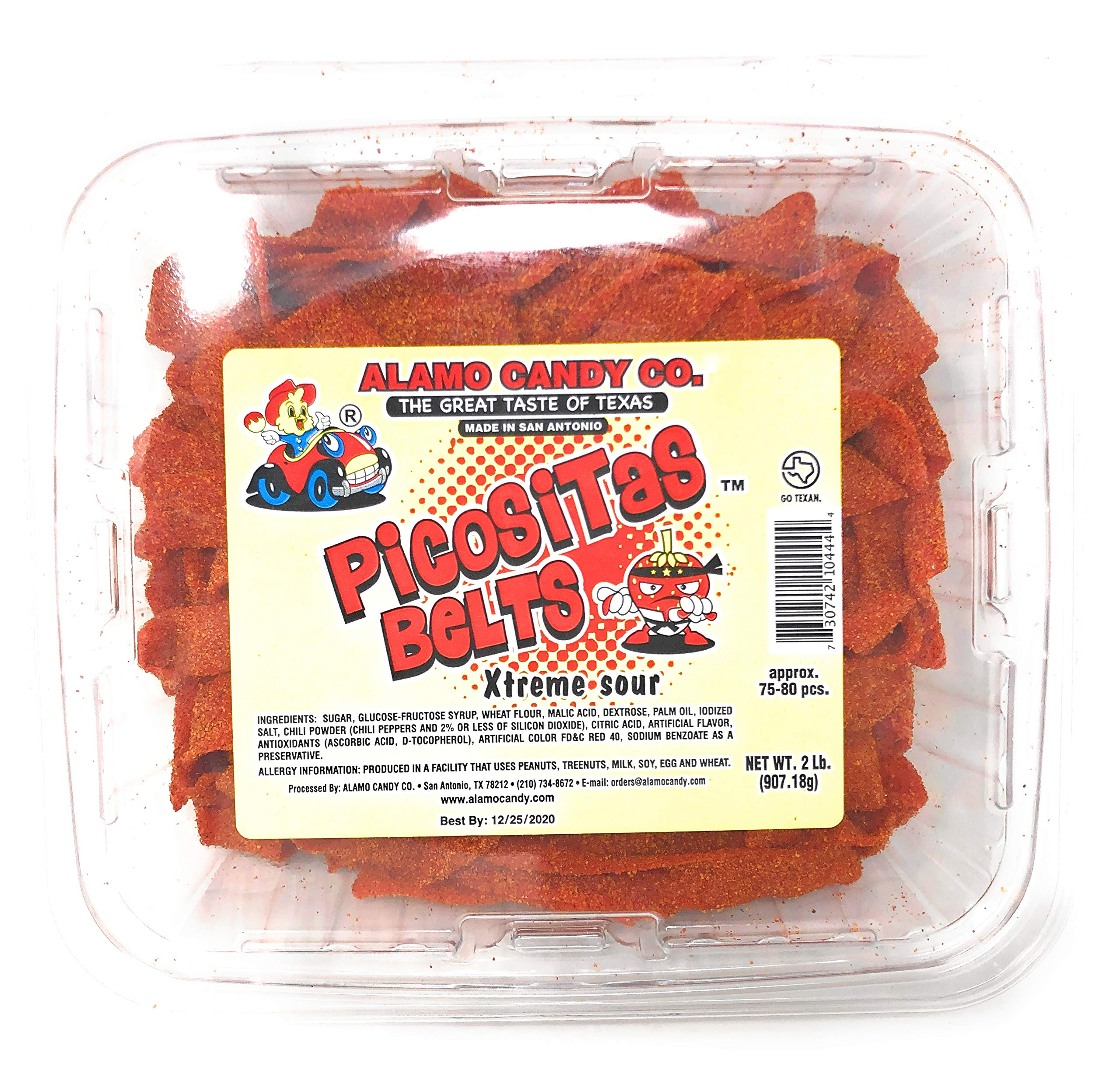 Alamo Candy Picositas Belt (SUGAR CANDY - ETHNIC) 2 Lbs by Alamo Candy