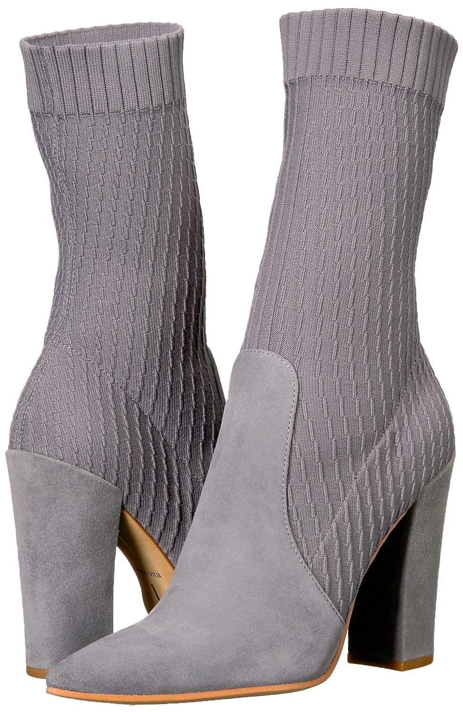 Dolce Vita Women's Elon Fashion Boot B075KJXGDR 6 B(M) US|Smoke Suede