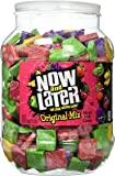 Now & Later Original Taffy Chews Candy, Assorted, 60 Ounce Jar