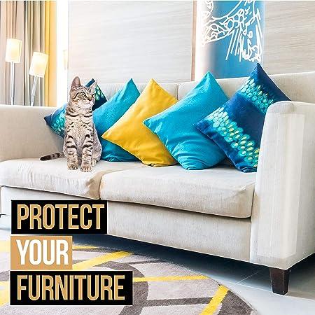Amazon.com: Cinta antiarañazos para gatos, 250 % más ancha ...