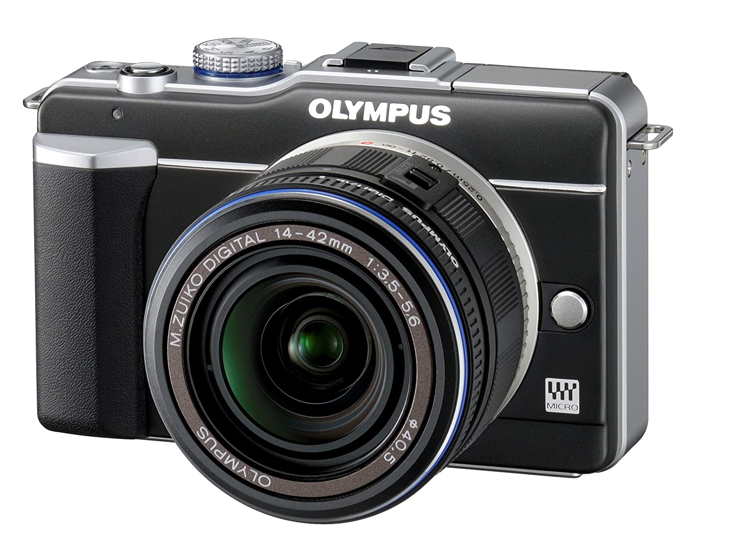 Olympus Pen E Pl1 123mp Live Mos Micro Four Thirds Oli Mpx 2 Mirrorless Digital Camera With 14 42mm F 35 56 Zuiko Zoom Lens Black