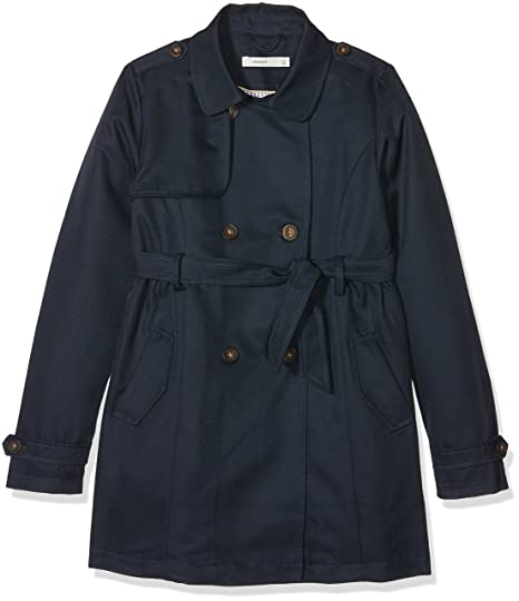 NAME IT Nkfmaiken Trench Coat, Abrigo para Niñas: Amazon.es: Ropa y accesorios
