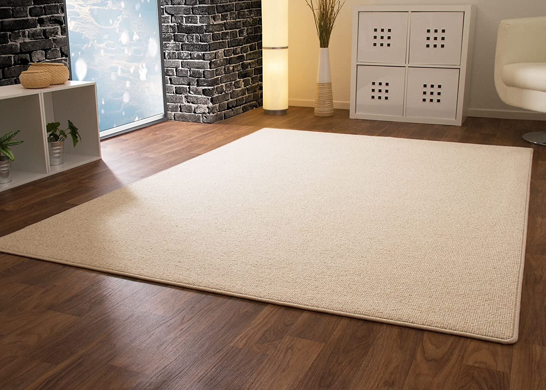 Designer Teppich Modern Berber Wellington in Sand, Größe  200x300 cm