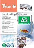 Peach PP580-01 A3 100pièce(s) film issu d'un procédé de lamination - films issus d'un procédé de lamination (A3, Transparent, 100 pièce(s))