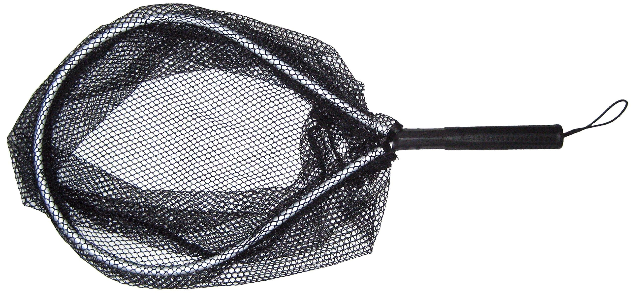 KUFA Aluminum Landing Net hoop:11''x15'' handle 7'' 7 oz LND204