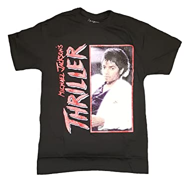 michael jackson thriller shirt