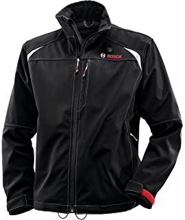 86a02991a9 Bosch Men s 12-Volt Max Lithium-Ion Soft Shell Heated Jacket Kit with 2.0
