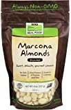 NOW Foods Marcona Blanched Almonds, 8-Ounce