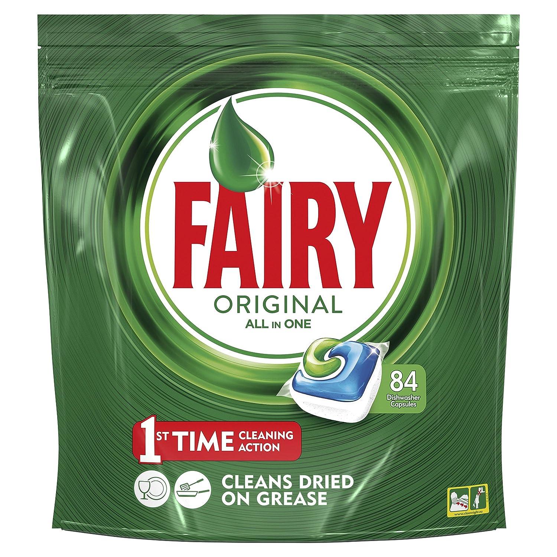 Fairy Original Cápsulas Todo en 1 para Lavavajillas - 84 cápsulas