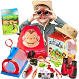 Kids Explorer Kit - Bug Catcher Kit for Kids & Binoculars for Kids - Great Gift for Boys & Girls - Best for 3, 4, 5, 6, 7, 8,