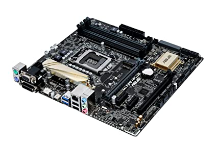 Asus H170M- Plus 6th Generation DDR4/2133Mhz/DVI/VGA/HDMI/DP Ports  MotherBoard
