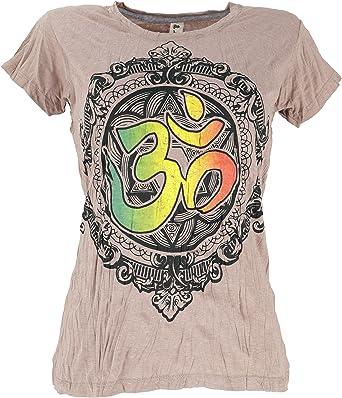 Guru-Shop Baba Camiseta, Mujer, Algodón, Camiseta Estampada, Ropa ...