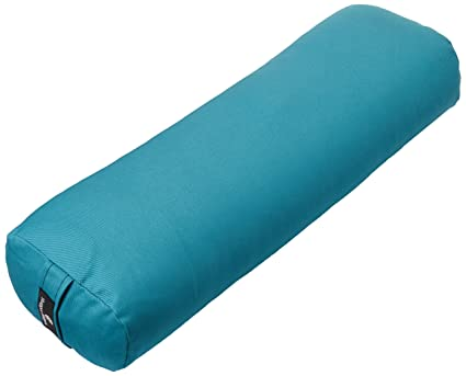 Amazon Hugger Mugger Standard Junior Yoga Bolster Aqua