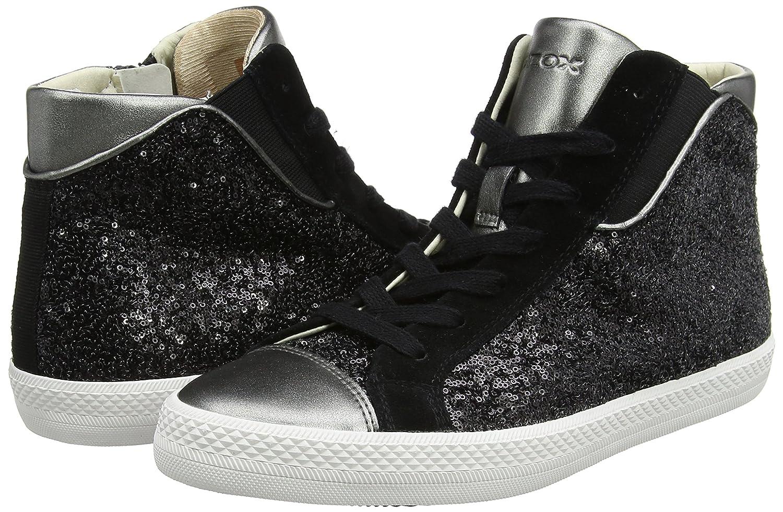 Collo Donnanero Alto A D Geox A Sneaker Giyo black 0wX0qfS