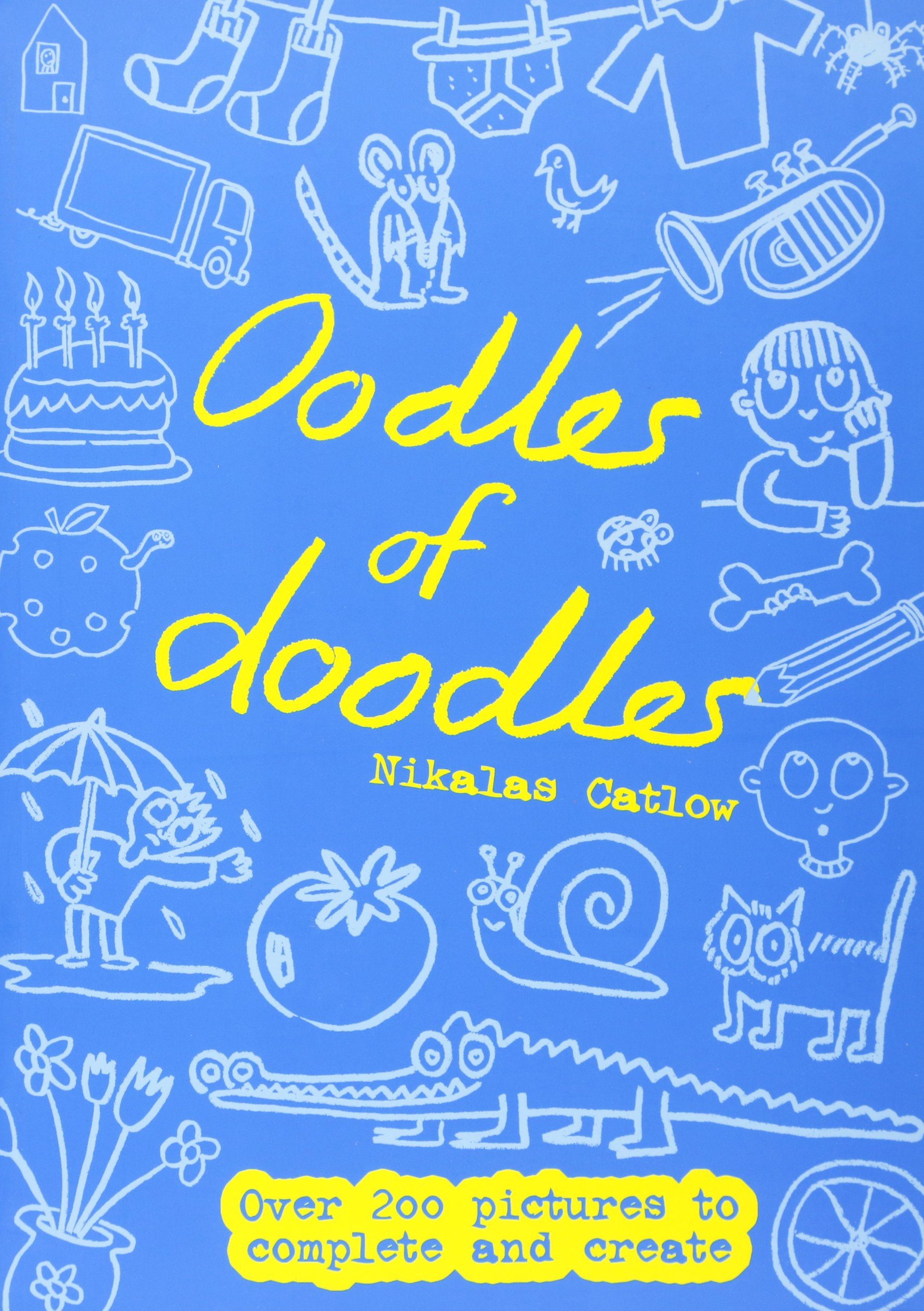 Read Online Oodles of Doodles: Over 200 Pictures to Complete and Create pdf