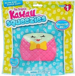 Kawaii Squeezies Just Play Jumbo Food- Purse
