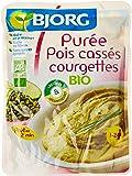 Bjorg Purée Pois Cass Courg Doy BIO Pack 250 g - Lot de 3