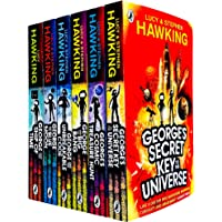 George's Secret Key to the Universe Complete 6 Books Collection Set by Lucy & Stephen Hawking (Secret Key to the…
