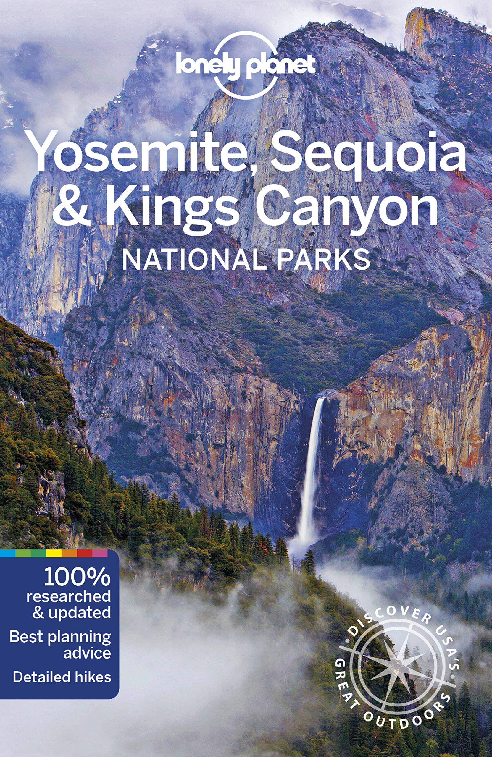 Cartina Yosemite National Park.Amazon It Lonely Planet Yosemite Sequoia Kings Canyon National Parks Lonely Planet Grosberg Michael Bremner Jade Libri In Altre Lingue