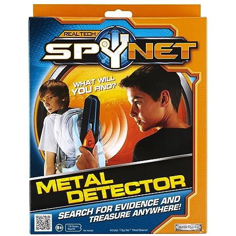 Jakks Pacific Spy Net - Detector de metales de juguete