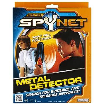 Jakks Pacific Spy Net - Detector de metales de juguete: Amazon.es: Juguetes y juegos