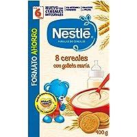 Nestlé Papillas - 8 cereales con Galleta María