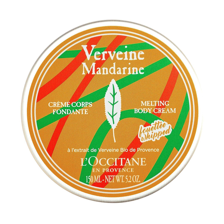 L'Occitane Verbena Mandarin Whipped Melting Body Cream, 5.2 oz.