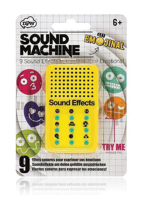 NPW Juguete con efectos sonoros de emoticonos - Amarillo, de Get Emojinal