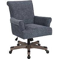 OSP Designs Megan Home Office Polyester Task Chair (Navy)