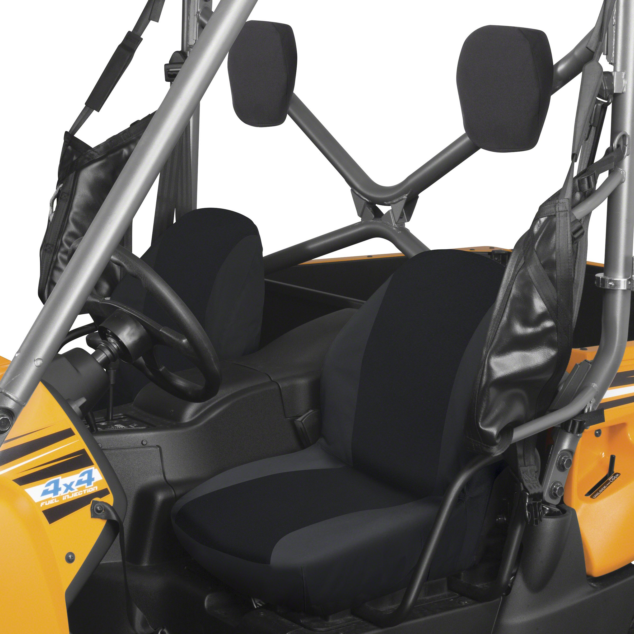 Classic Accessories Black UTV Bucket Seat Cover - Four Wheeler Accessories, Three Sets (18-162-010401-RT) by Classic Accessories (Image #1)