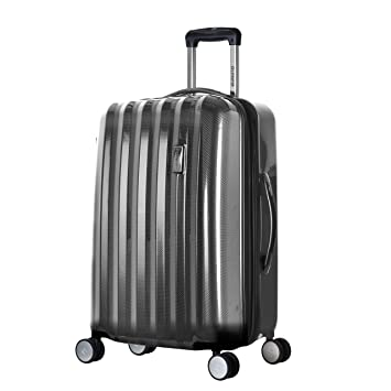 6724782d1 Amazon.com | Olympia Luggage Titan 25 InchExpandable Spinner, Black, One  Size | Suitcases