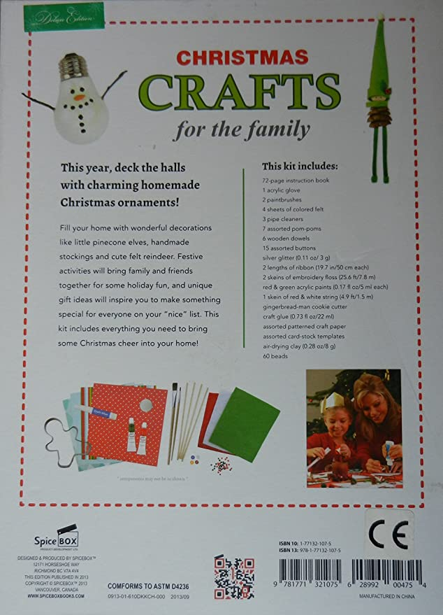 Amazon Com Christmas Crafts For The Family Toys Games