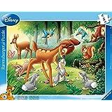 Ravensburger - 06003 - Puzzle Enfant avec Cadre - Bambi - 8 Pièces