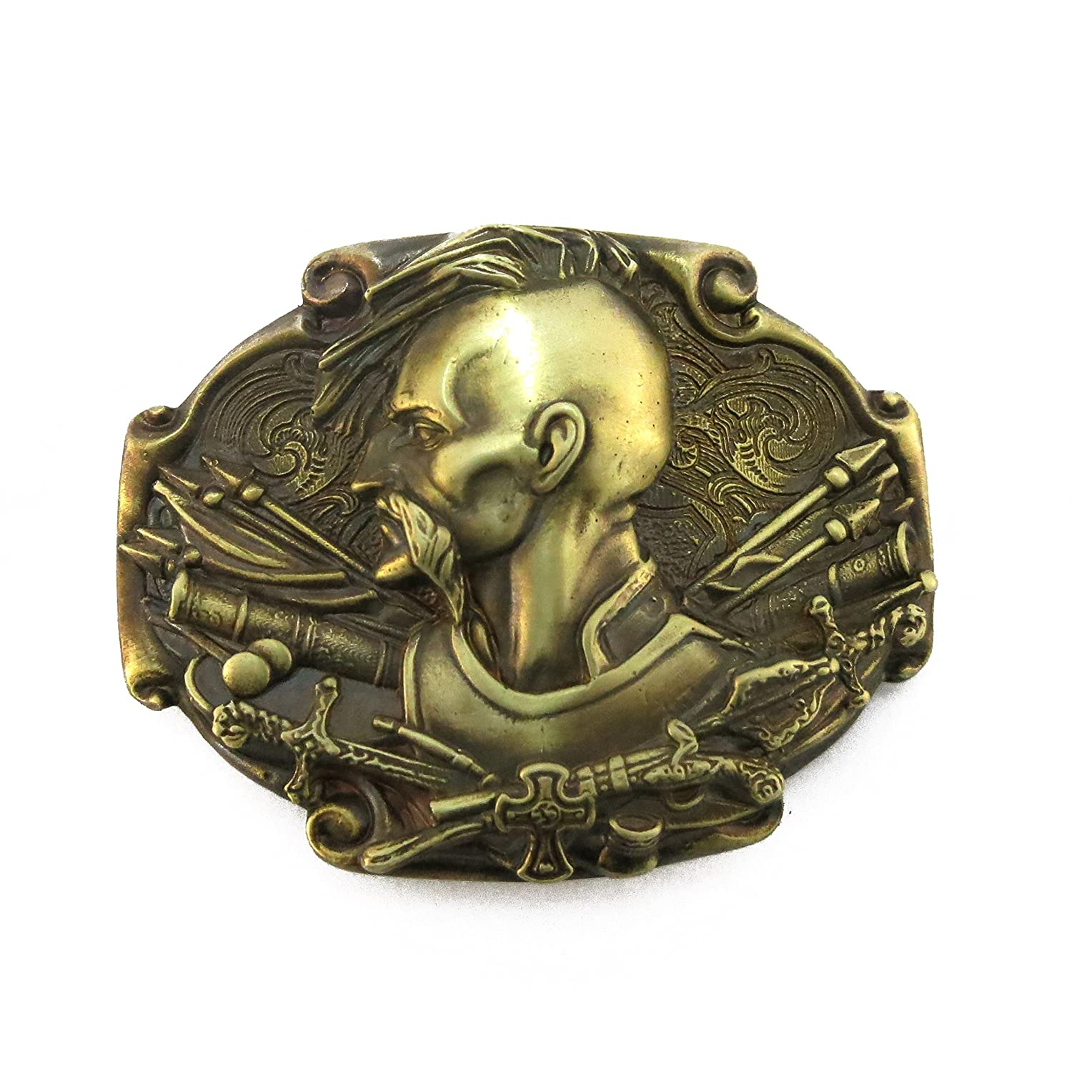 "Ukrainian belt buckle ""Cossack"""