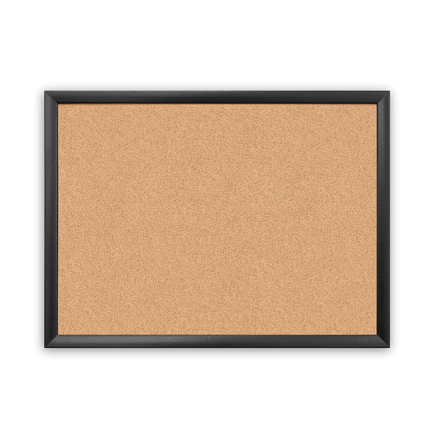 Cork Bulletin Board Amazoncom U Brands Cork Bulletin Board 35 X 23 Inches Black