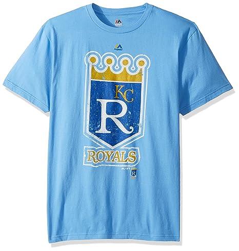 be19e6e5 Amazon.com : Majestic Kansas City Royals Mens League Supreme T-Shirt ...