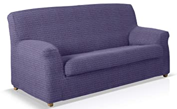 JM Textil Funda de Sofa elástica con cojin Separado Sofa 2 ...