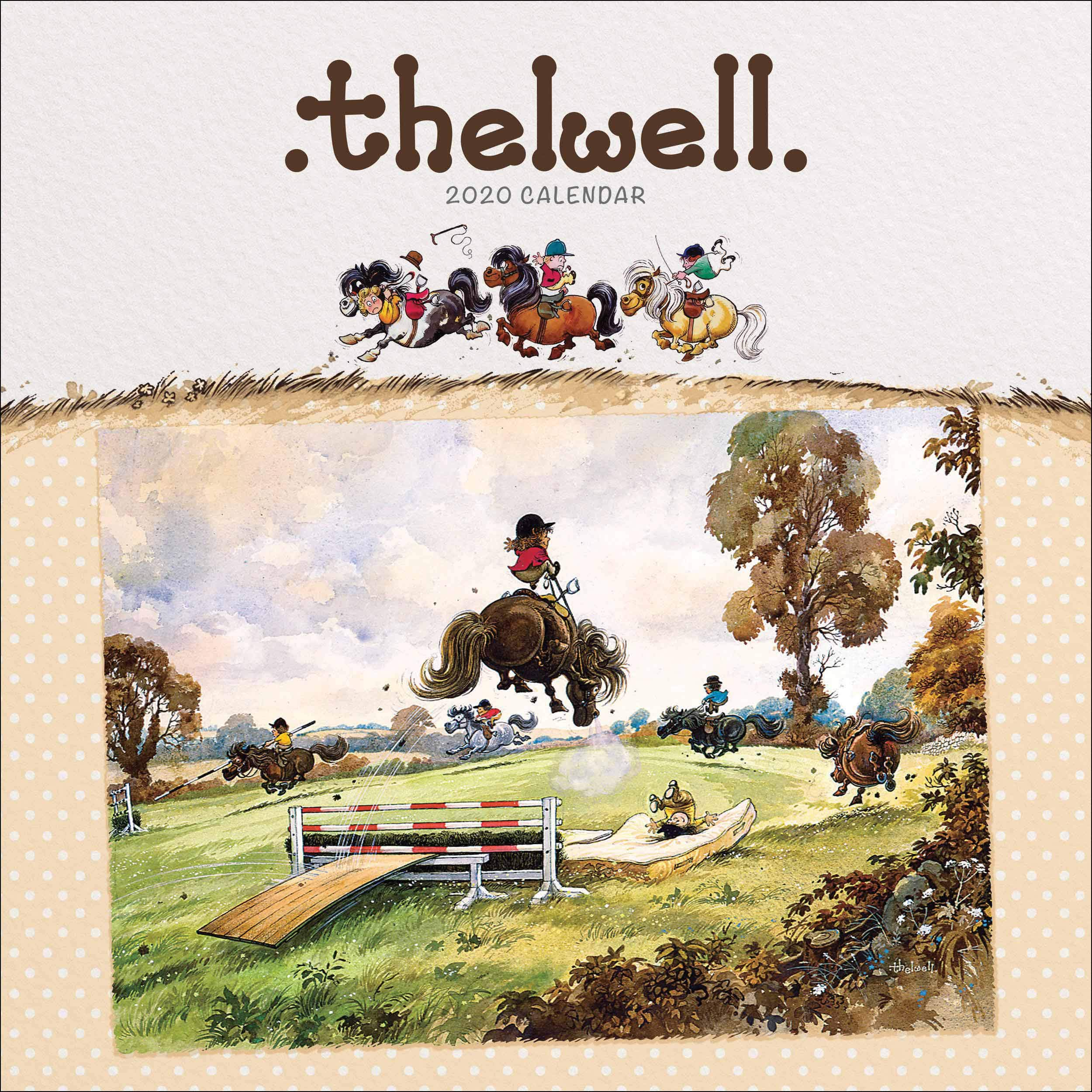 Thelwell Square Wiro Wall Calendar 2020