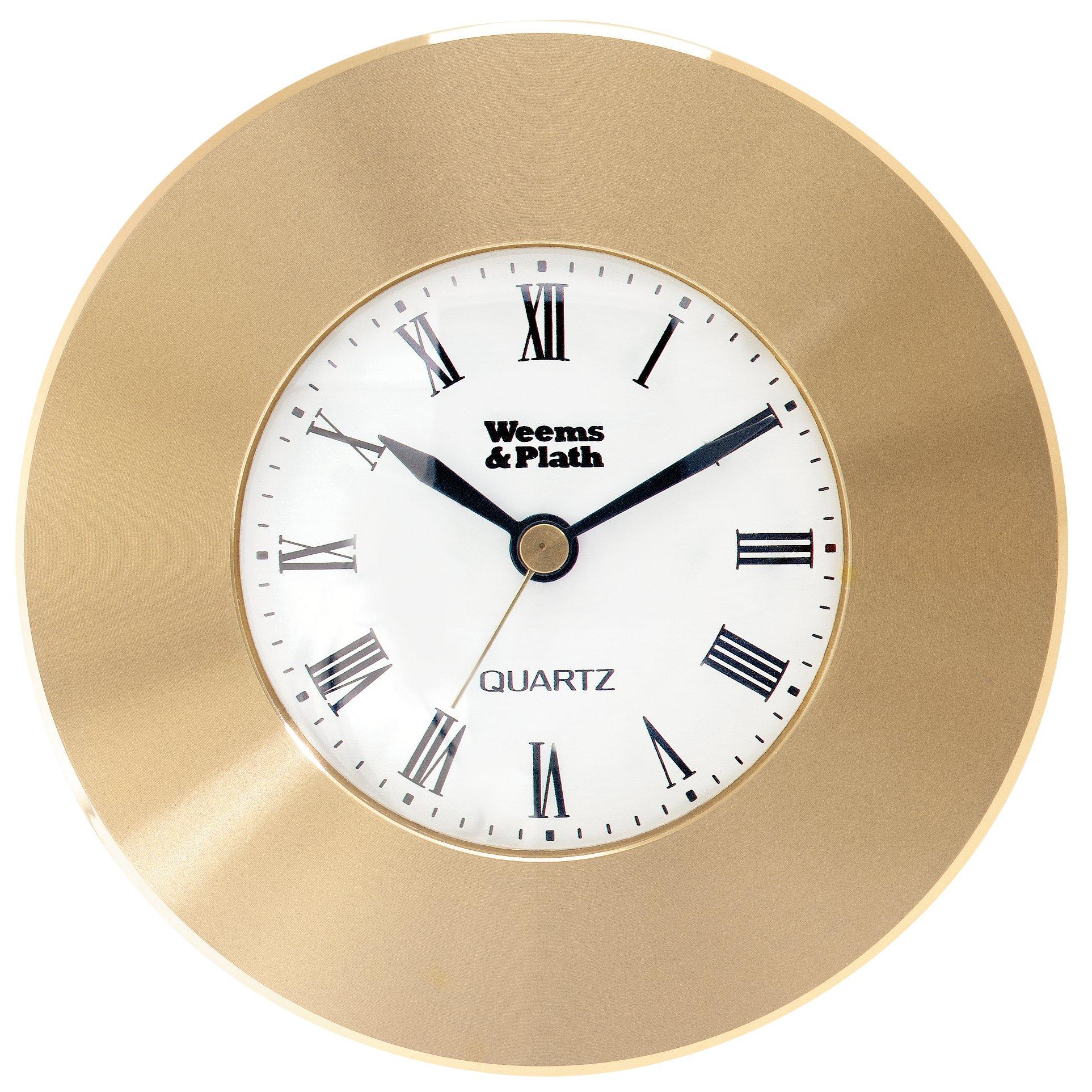 Weems & Plath Marine Navigation Clock Chart Weight (Brass)