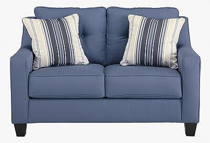 Pleasant Amazon Com Benchcraft Aldie Nuvella Contemporary Ibusinesslaw Wood Chair Design Ideas Ibusinesslaworg