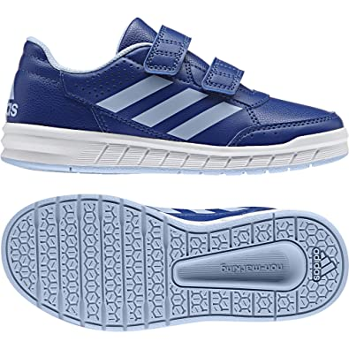 new product b1cb0 9d453 adidas AltaSport CF, Baskets Basses Mixte Enfant, Bleu (Collegiate  RoyalEasy Blue