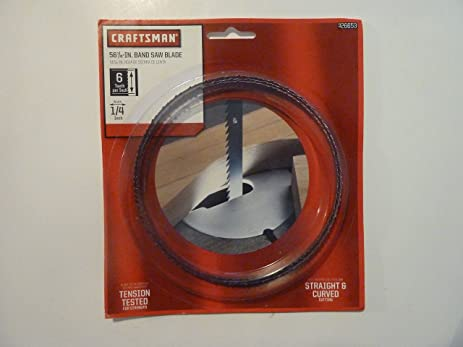 Craftsman 14 x 56 78 in band saw blade 6tpi 26653 amazon craftsman 14 x 56 78 in band saw blade keyboard keysfo Choice Image