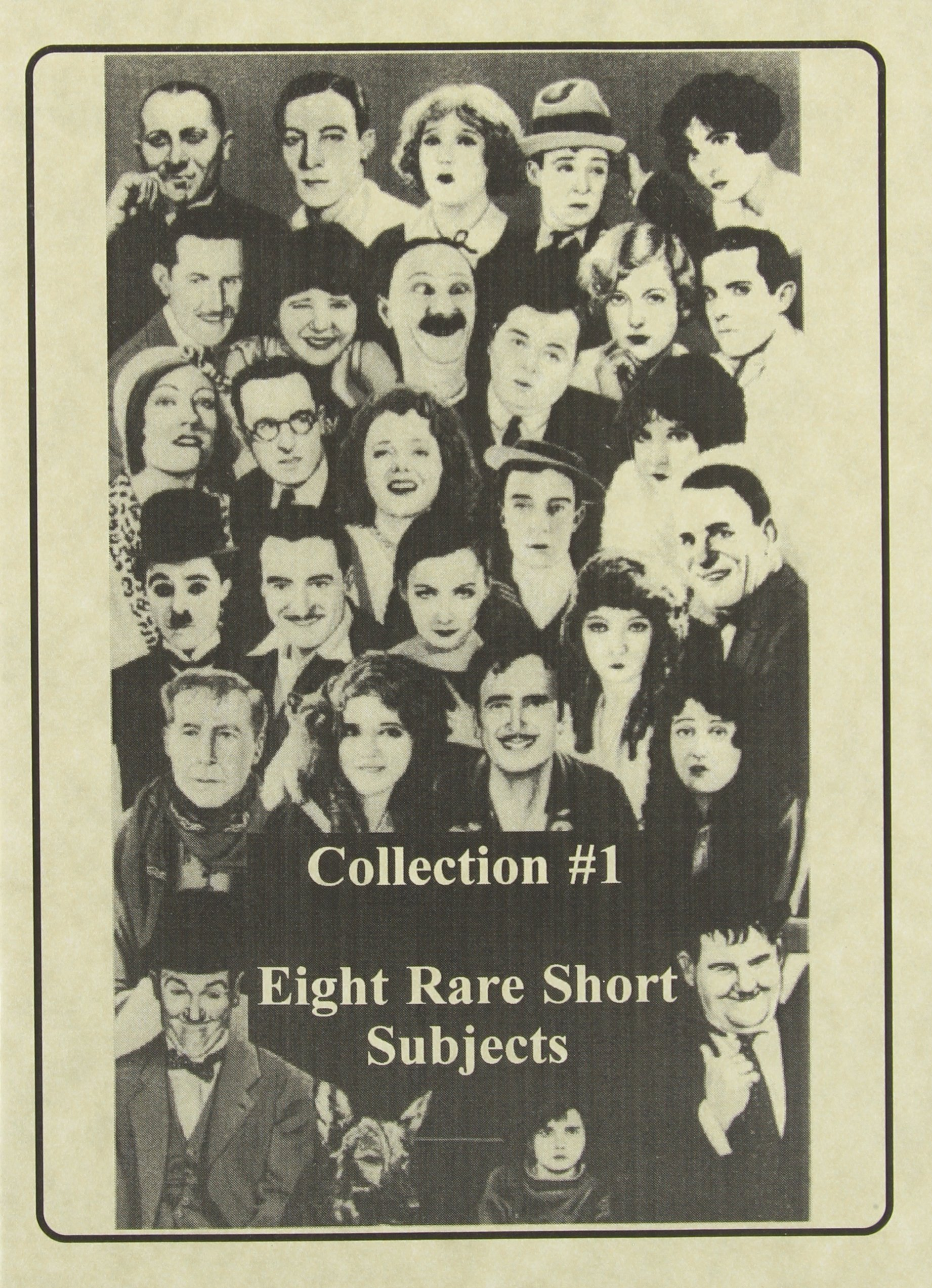 DVD : Short Subject Collection 1 (Black & White, Silent Movie)