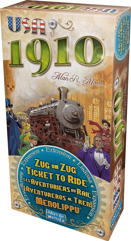 Days of Wonder-¡ Aventureros al Tren USA 1910-Español, Color ...