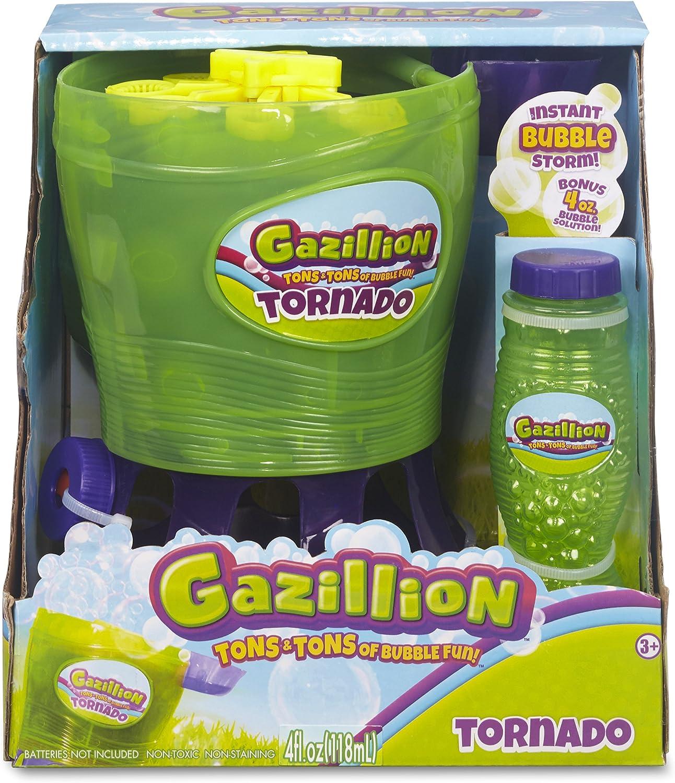 Bubble Blower Machine Tornado Toy Kids Blowing Soap Solution Bubbles Party LI